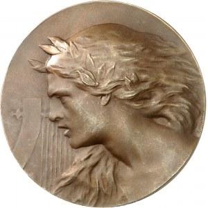 IIIe République (1870-1940). Médaille, la Musique guerrière par Paul Niclausse, SAMF n° 157 1900, Paris.