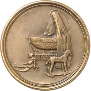 IIIe République (1870-1940). Médaille, Voici mes bijoux par Henry Nocq, SAMF n° 197 1901, Paris.