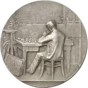 IIIe République (1870-1940). Médaille, la Glyptique ou la gravure en médailles par Georges Dupré, SAMF n° 17 1902, Paris.