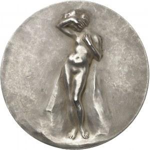 IIIe République (1870-1940). Médaille, Le Printemps par Louis Dejean, SAMF n° 73 1903, Paris.