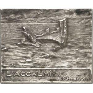 IIIe République (1870-1940). Médaille, l'accalmie par Michel Cazin, SAMF n° 41 1903, Paris.