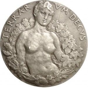 IIIe République (1870-1940). Médaille, Conservation des forêts par Henry Cros, SAMF n° 57 1904, Paris.