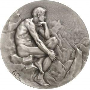 IIIe République (1870-1940). Médaille, La Joie de vivre par Raoul Lamourdedieu, SAMF n° 70 1906, Paris.