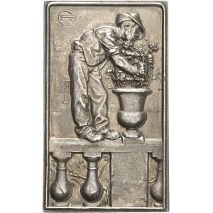 IIIe République (1870-1940). Médaille, L'Art des Jardins par François Roques, SAMF n° 112 1907, Paris.