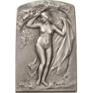 IIIe République (1870-1940). Médaille, L'Été par Firmin-Marcelin Michelet, SAMF n° 142 1908, Paris.