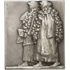 IIIe République (1870-1940). Médaille, Paysans croates par Robert Franges-Mihanovic, SAMF n° 123 1909, Paris.