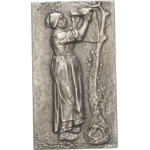 IIIe République (1870-1940). Médaille, Paysannes du Berry par Ernest Nivet, SAMF n° 4 1910, Paris.