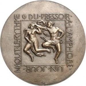 IIIe République (1870-1940). Fonte, Du pressoir à l'amphore par Henri Dropsy, SFAM n° 32 1953, Paris.