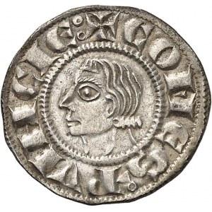Provence (comté de), Charles Ier d'Anjou (1246-1285). Gros marseillais de 6 deniers (parfois demi-gros) ND (après 1257), Marseille.