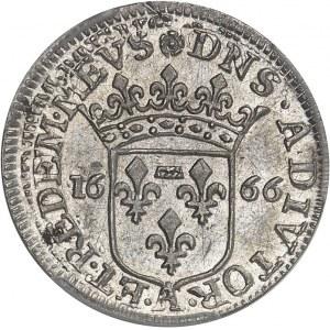 Dombes, Anne-Marie-Louise d'Orléans (1650-1693). 1/12e d'écu de 5 sols (luigino) 1666, Trévoux.