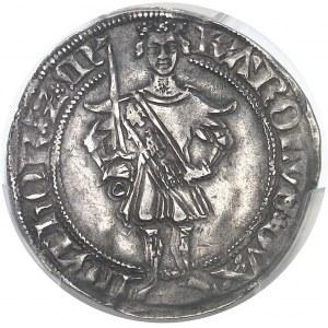 Lorraine (duché de), Charles II (1390-1431). Gros, pendant la régence du Barrois ND (1420-1424), Nancy.