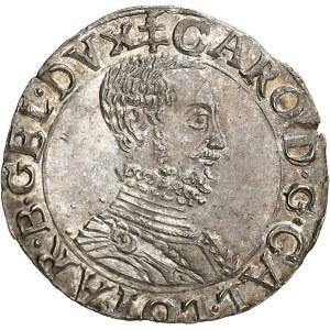 Lorraine (duché de), Charles III (1545-1608). Quart de teston ND (1564-1574), Nancy.