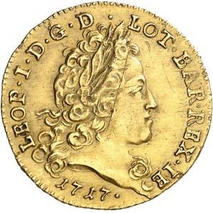 Lorraine (duché de), Léopold Ier (1690-1729). Demi-léopold 1717, Nancy.
