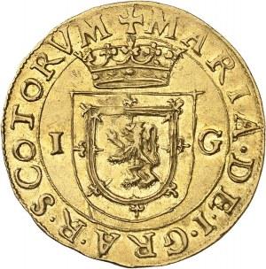 Écosse, Marie Stuart (1542-1567). 44 shillings, sous la régence de James Hamilton 1553, Édimbourg.