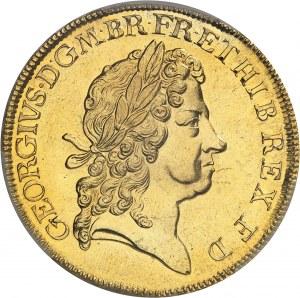 Georges Ier (1714-1727). 5 guinées 1716, Londres.