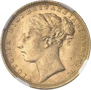 Victoria (1837-1901). Souverain 1871, Londres.