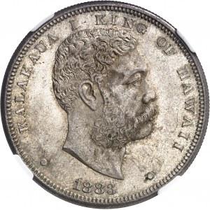 Kalakaua (1874-1891). 1 dollar 1883, San Francisco.