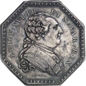 Louis XVI (1774-1792). Jeton pour la 3e Compagnie des Indes orientales et de la Chine 1785, Paris.