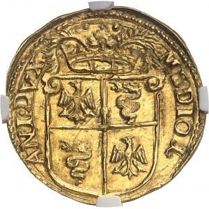 Milan (duché de), Philippe II (1540-1598). Doppia 1578, Milan.