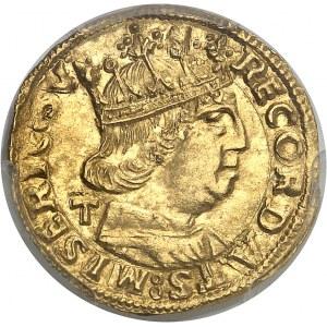 Naples et Sicile, Ferdinand Ier d'Aragon (1458-1494). Ducat ND (1458-1494) T, Naples.