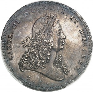 Naples et Sicile, Charles III (1720-1733). Once de 30 tari 1732 CP - SM, Palerme.