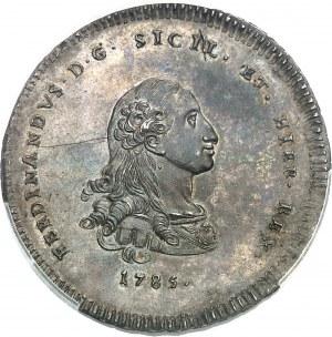 Naples et Sicile, Ferdinand IV (1759-1816). 30 tari 1785 GLC, Palerme.