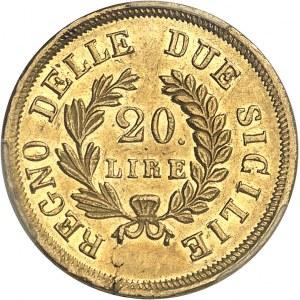Naples, Joachim Murat (1808-1815). 20 lire 1813, Naples.