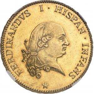 Parme, Ferdinand de Bourbon (1765-1802). 6 doppie 1786, Parme.