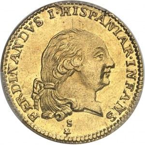 Parme, Ferdinand de Bourbon (1765-1802). Doppia 1792, Parme.