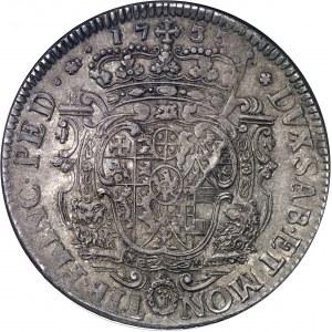 Savoie, Charles-Emmanuel III, 1ère période (1730-1755). Scudo vecchio de 5 lire 1733, Turin.