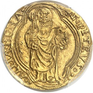 Vatican, Pie II (1458-1464). Ducat ND (1458-1464), Rome.