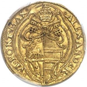 Vatican, Alexandre VI (1492-1503). Doppio fiorino (double florin) ND (1492-1503), Rome.