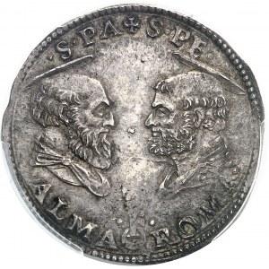 Vatican, Clément VII (1523-1534). Doppio giulio ND (1527), Rome.