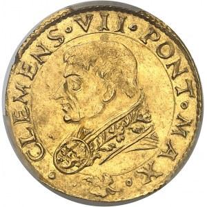 Vatican, Clément VII (1523-1534). Ducat papal ND (1524), Modène.