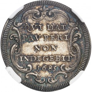 Vatican, Innocent XI (1676-1689). Giulio 1685 - An X, Rome.