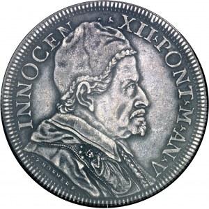 Vatican, Innocent XII (1691-1700). Piastre 1696 - An V, Rome.