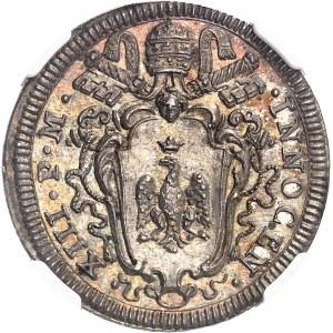 Vatican, Innocent XIII (1721-1724). Giulio 1721, Rome.