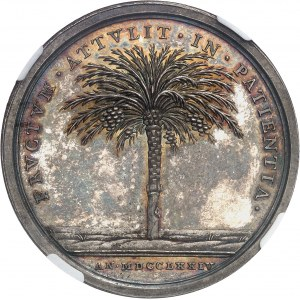 Vatican, Clément XIV (1769-1774). Médaille, suppression de la Compagnie de Jésus et retour d'Avignon, du Bénévent et de Tagliacozzo MDCCLXXIV (1774) - An VI, Rome.