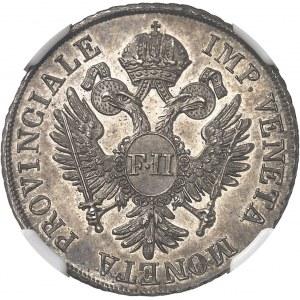 Lombardie-Vénétie, François II d'Habsbourg-Lorraine (1798-1805). 1 lire vénitienne 1800, Venise.