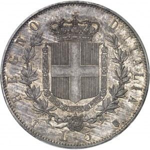 Victor-Emmanuel II (1861-1878). 5 lire 1861, T, Turin.