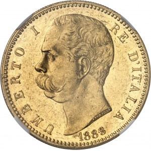 Umberto I (1878-1900). 100 lire 1883, R, Rome.