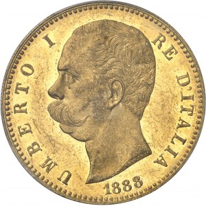 Umberto I (1878-1900). 100 lire 1888, R, Rome.