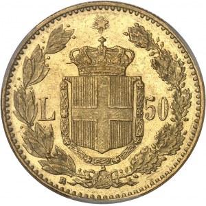 Umberto I (1878-1900). 50 lire 1888, R, Rome.