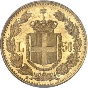 Umberto I (1878-1900). 50 lire 1891, R, Rome.