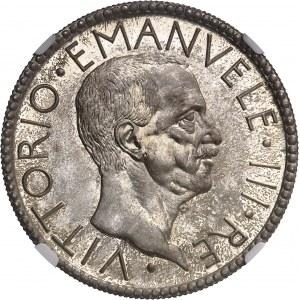 Victor-Emmanuel III (1900-1946). Essai de 20 lire au licteur (PROVA DI STAMPA) 1927 - An V, R, Rome.