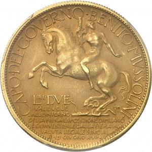 Victor-Emmanuel III (1900-1946). 2 lire Or, Exposition de Milan 1928, Milan (Johnson).