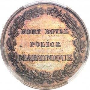 Directoire (1795-1799). Jeton de la police de Fort Royal ND (1794-1807 ?), Paris.