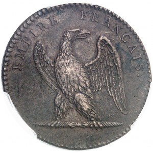 Premier Empire / Napoléon Ier (1804-1814). Jeton de la Loge de Saint Louis de la Martinique des Frères Réunis ND (1811), Paris.