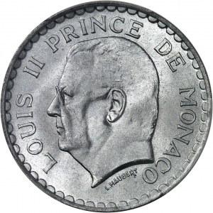 Louis II (1922-1949). 5 francs Louis II 1945, Paris.