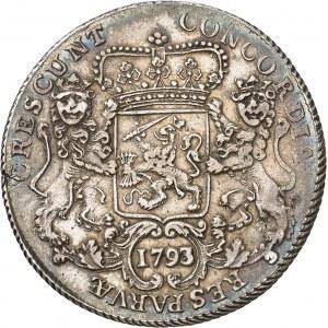 République des Sept Provinces-Unies des Pays-Bas (1581-1795), West Friesland (Frise occidentale). Ducaton 1793/2, Enkhuizen.